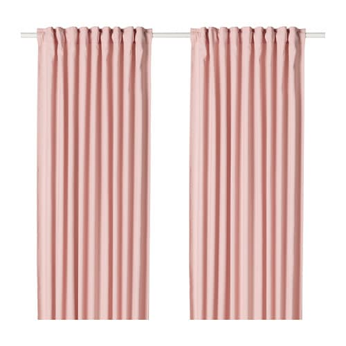 HANNALENA Curtains, 1 pair - IKEA