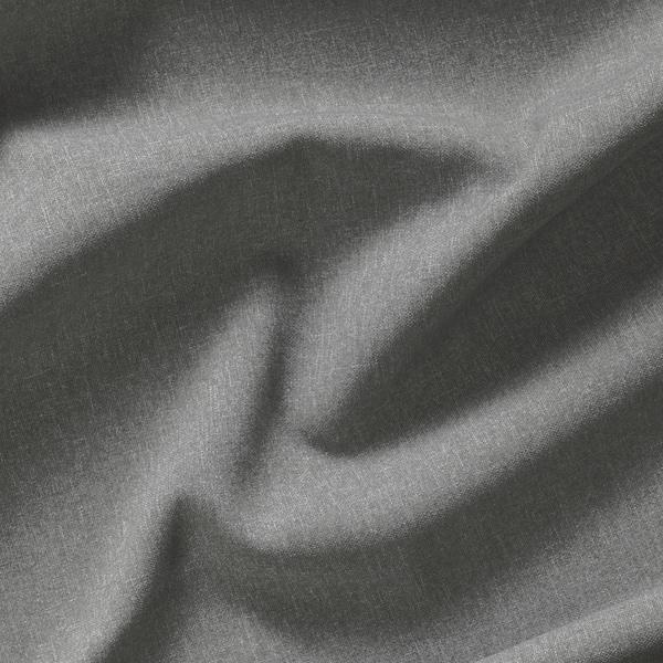 """HANNALENA Room darkening curtains, 1 pair, gray, 57x98 ½ """""""