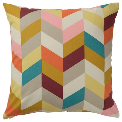HANNELISE Cushion, multicolor, 20x20 ""