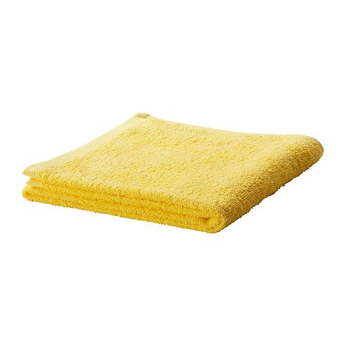 HÄREN Washcloth IKEA A terry towel in medium thickness that is soft and highly absorbent (weight 400 g/m²).  Made of combed cotton.