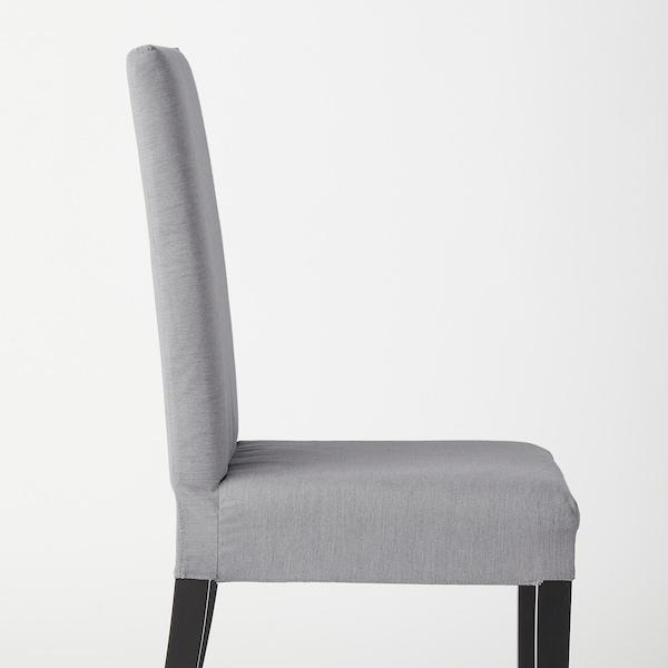 HARRY Chair, black/Knisa light gray