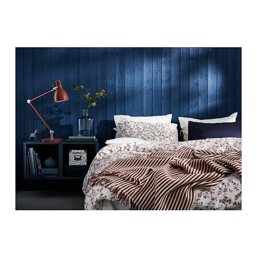 HÄSSLEKLOCKA Duvet cover and pillowcase(s) IKEA Made in 100% cotton - a natural and durable material that becomes softer with every wash.