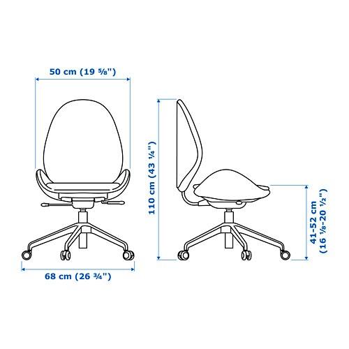 Hattefjll Swivel Chair Gunnared Beige Ikea