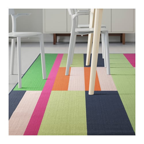 Ikea Rug Colorful: Designer Tip: Decorating For Spring With Ikea