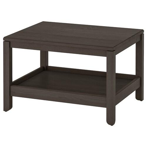 """HAVSTA coffee table dark brown 29 1/2 """" 23 5/8 """" 18 7/8 """""""