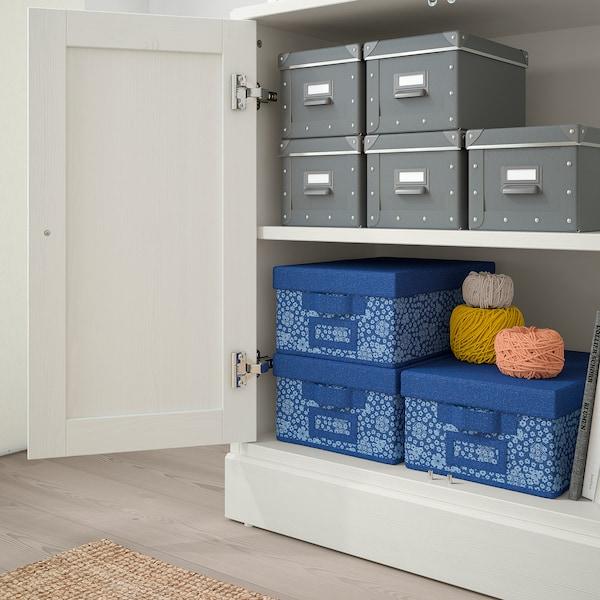 "HAVSTA Storage combination with doors, white, 31 7/8x18 1/2x83 1/2 """