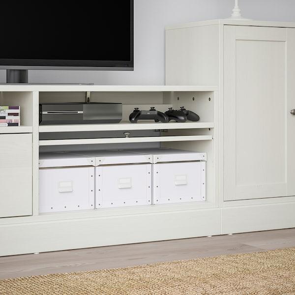 Ikea Tv Meubel Open Kast.Havsta Tv Storage Combination White Ikea