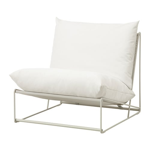 HAVSTEN - Chair, in/outdoor, beige
