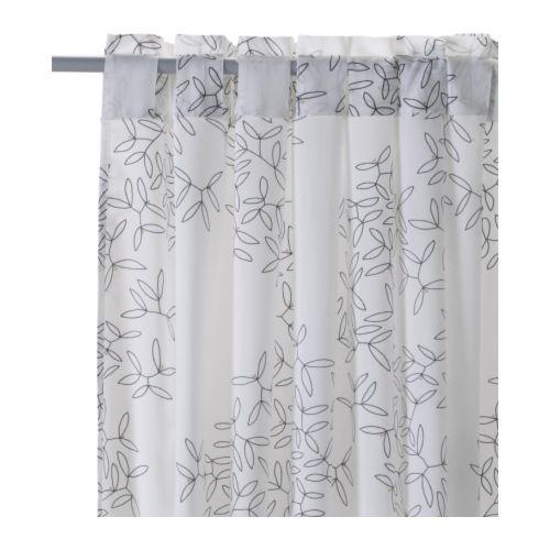 Image Result For Black White Sheer Curtains