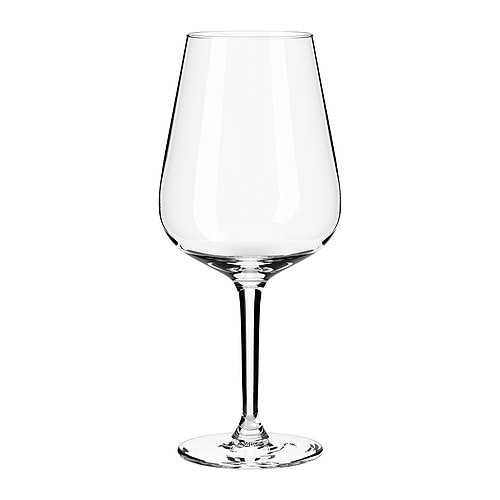Hederlig red wine glass ikea