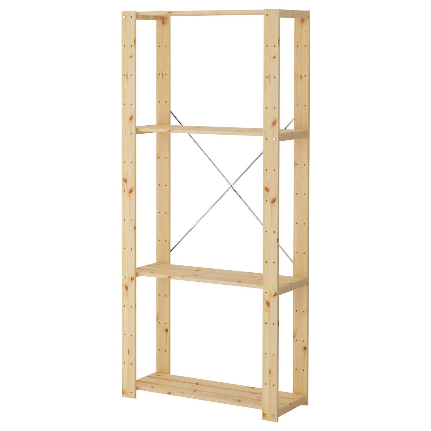 Shelf Unit Hejne Softwood