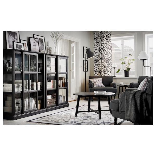 HEKTAR Floor lamp with LED bulb, dark gray
