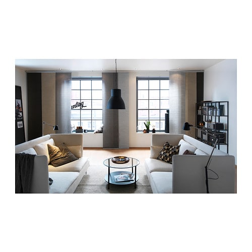 ikea hektar pendant lamp ceiling light fixture 19 diameter ebay. Black Bedroom Furniture Sets. Home Design Ideas