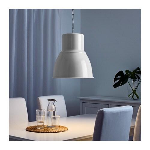 "hektar pendant lamp - white, 9 "" - ikea, Hause deko"
