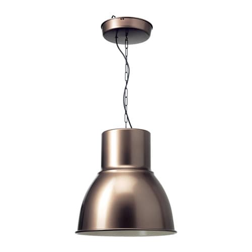 hektar pendant lamp bronze color ikea. Black Bedroom Furniture Sets. Home Design Ideas