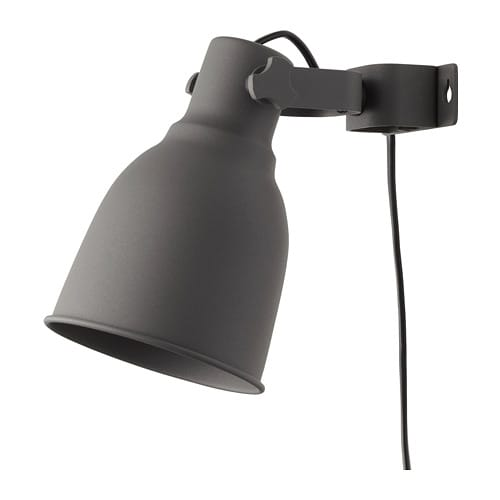 Hektar wallclamp spotlight ikea hektar wallclamp spotlight aloadofball Image collections