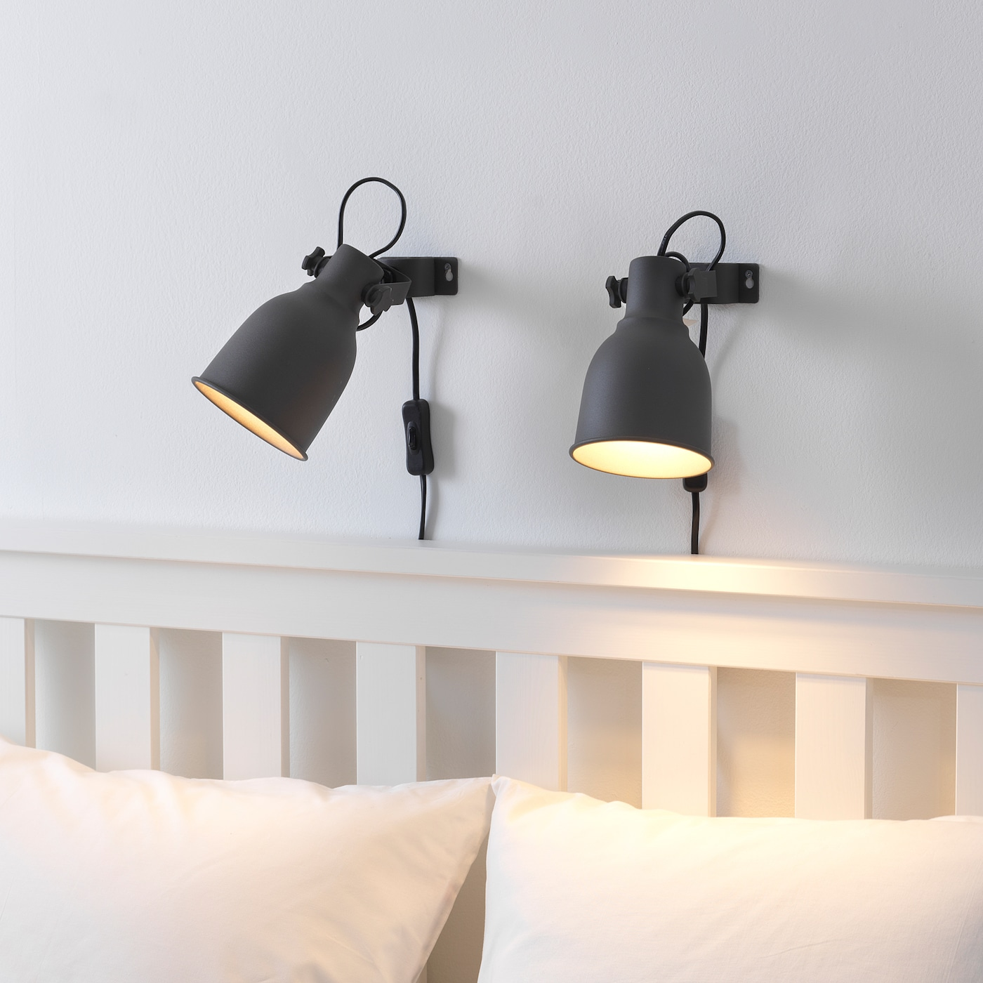 NEW in Package Ikea HEKTAR Wall Clamp Spotlight Clip on Led