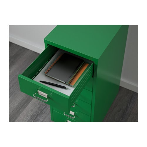 HELMER Drawer Unit On Casters   Green   IKEA