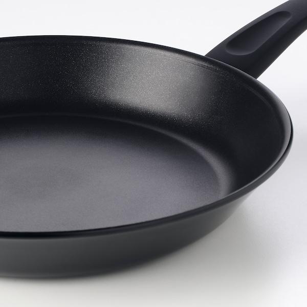 "HEMLAGAD Frying pan, black, 11 """