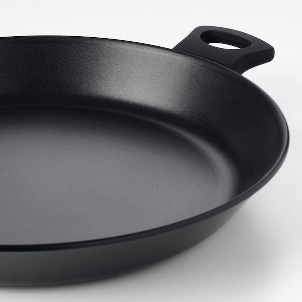 "HEMLAGAD Frying pan, black, 13 """