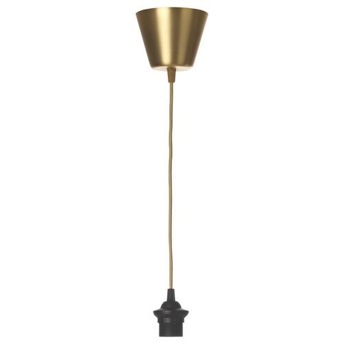 "HEMMA cord set textile/brass color 13 W 5 ' 11 "" 4 lb"