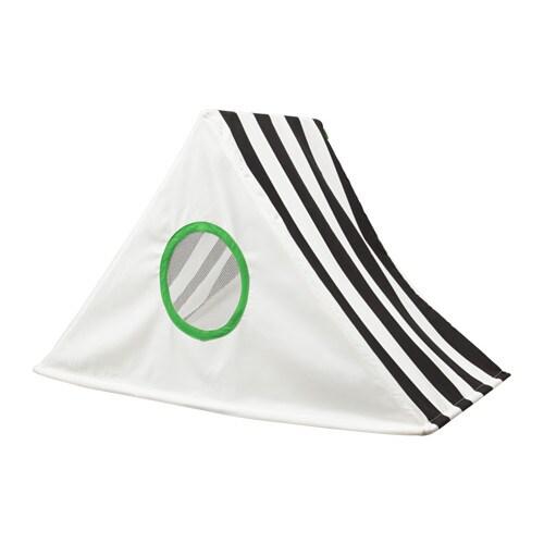 HEMMAHOS Bed canopy, black, white black/white -