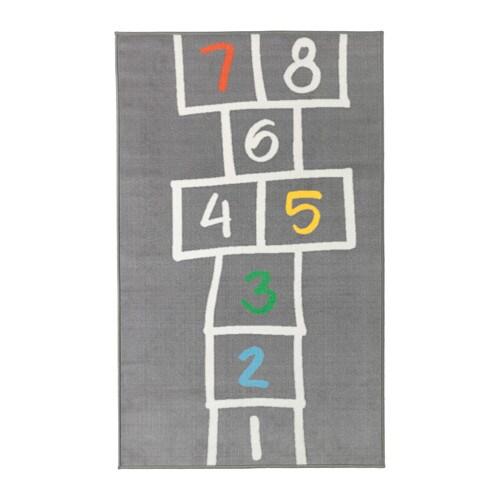 HEMMAHOS Rug, gray gray 39 3/8x63