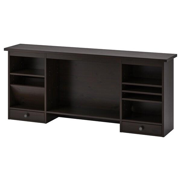 Hemnes Add On Unit For Desk Black