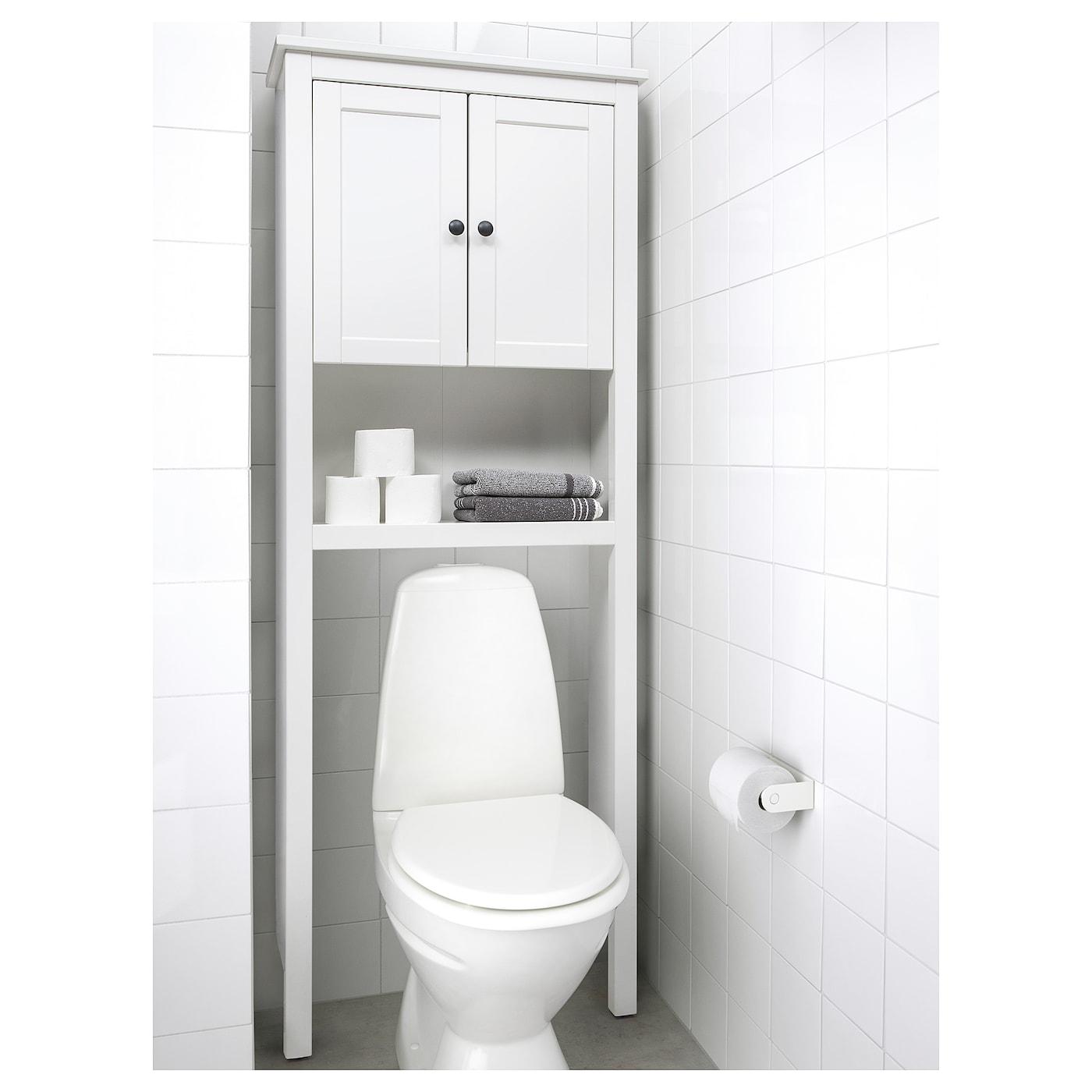 "HEMNES Bathroom shelf unit - white 5 5/5x5 5/5x55 """