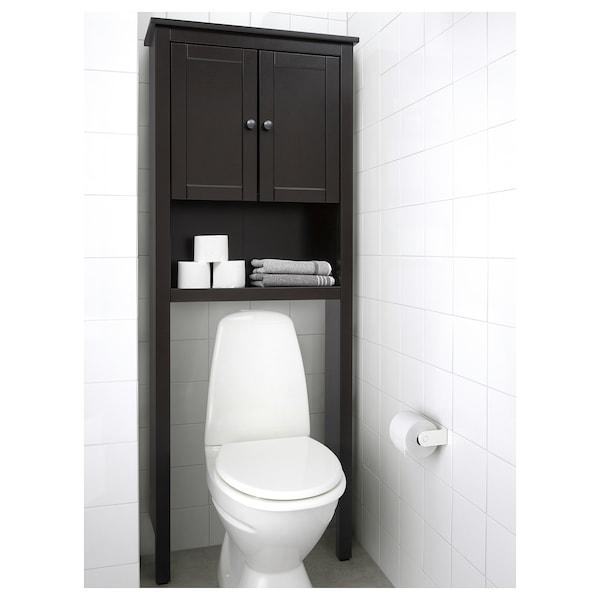 Hemnes Bathroom Shelf Unit Black Brown