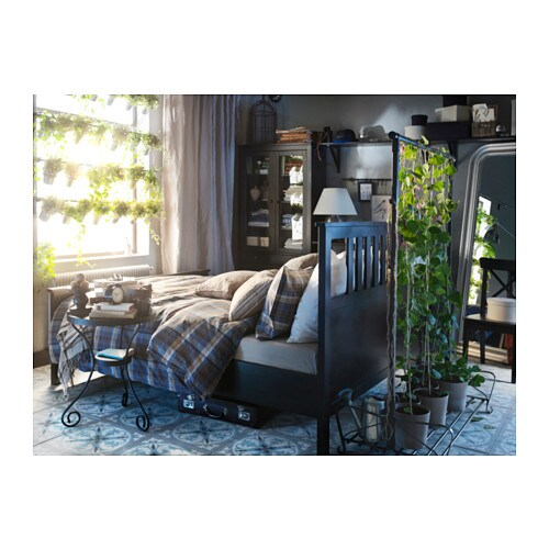 hemnes bed frame king lury ikea - Ikea Hemnes Bed Frame
