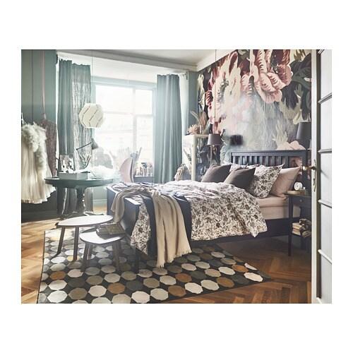 HEMNES Bed Frame   Full, Lönset, White Stain   IKEA