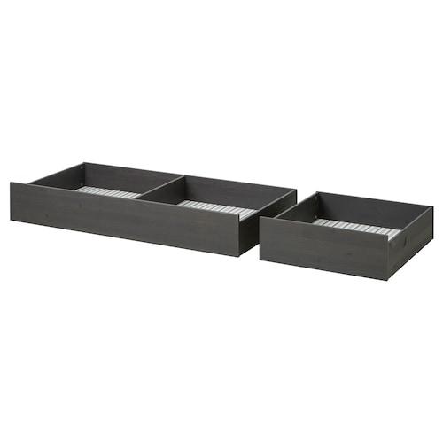 IKEA HEMNES Underbed storage box, set of 2