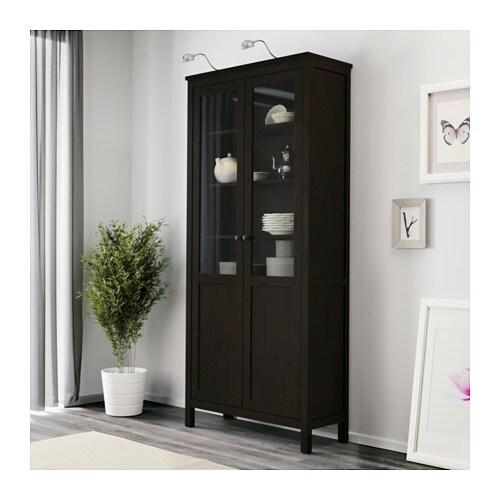 HEMNES Cabinet With Panel/glass Door   Red Brown   IKEA