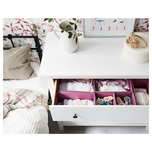 Hemnes 3 Drawer Chest White Stain Ikea