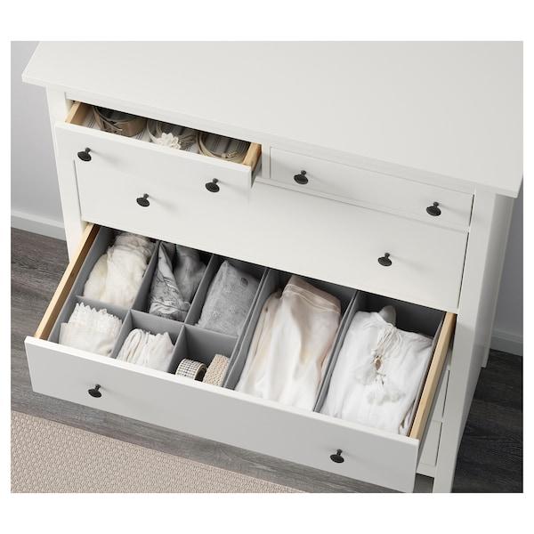 "HEMNES 6-drawer chest white 42 1/2 "" 19 5/8 "" 51 5/8 "" 16 7/8 """