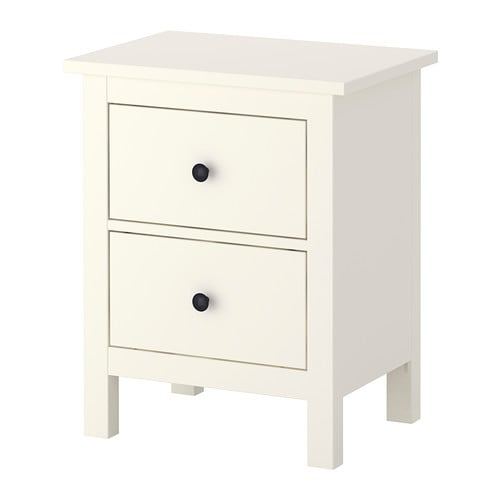 hemnes chest with 2 drawers white ikea. Black Bedroom Furniture Sets. Home Design Ideas