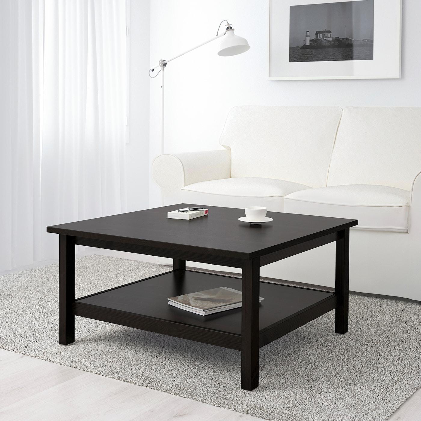 Hemnes Coffee Table Black Brown 35 3 8x35 3 8 Ikea