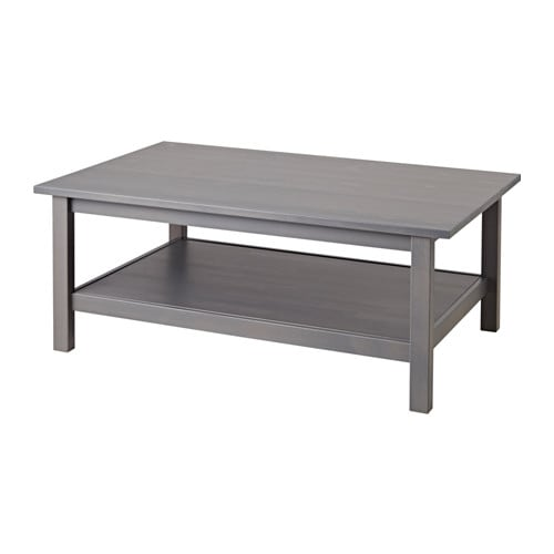 Stupendous Hemnes Coffee Table Dark Gray Gray Stained Home Interior And Landscaping Ferensignezvosmurscom