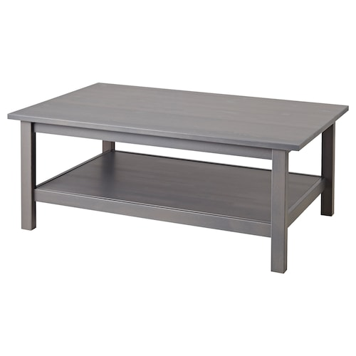 """HEMNES coffee table dark gray stained 46 1/2 """" 29 1/2 """" 18 1/8 """""""