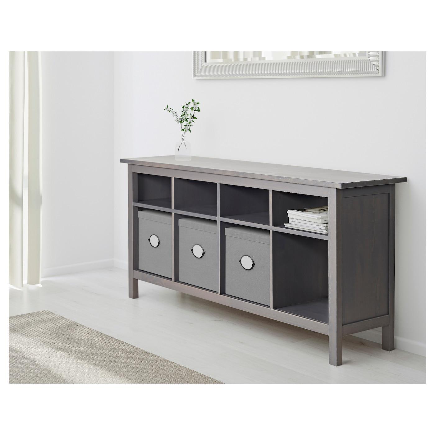 Wondrous Hemnes Console Table Black Brown Home Interior And Landscaping Spoatsignezvosmurscom