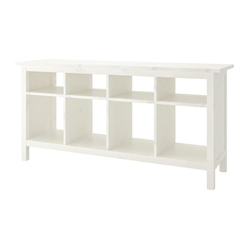 HEMNES   Console Table, White Stain