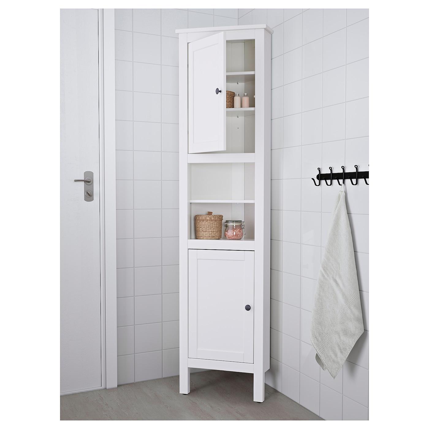 "HEMNES Corner cabinet - white 9 9/9x94 9/9x79 9/9 """