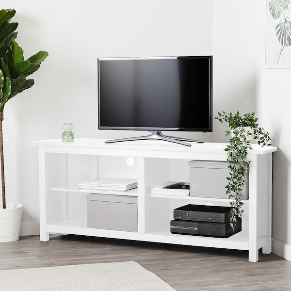 Hemnes Corner Tv Bench White 57 7