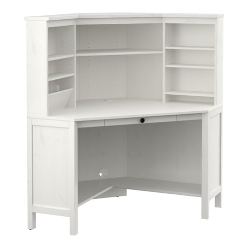 Sale alerts for Ikea HEMNES Corner workstation, white stain - Covvet
