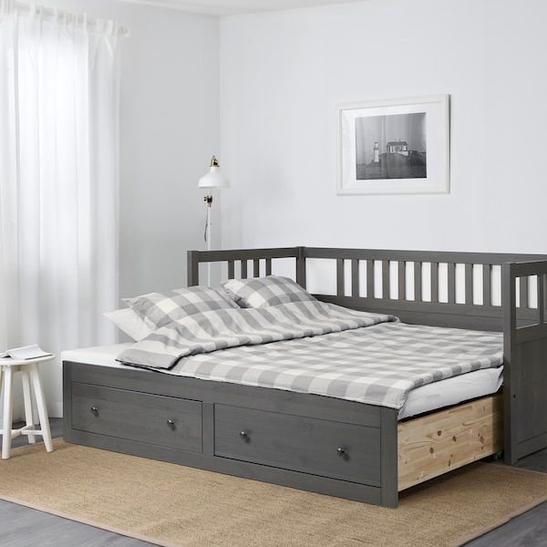 Hemnes Daybed Frame With Storage Dark