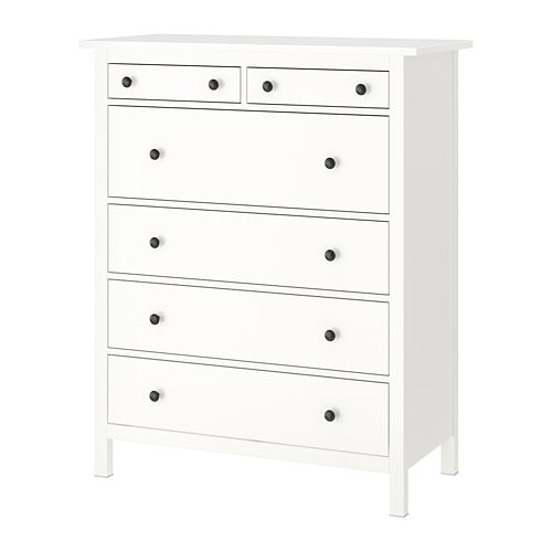 Hemnes 6 Drawer Chest