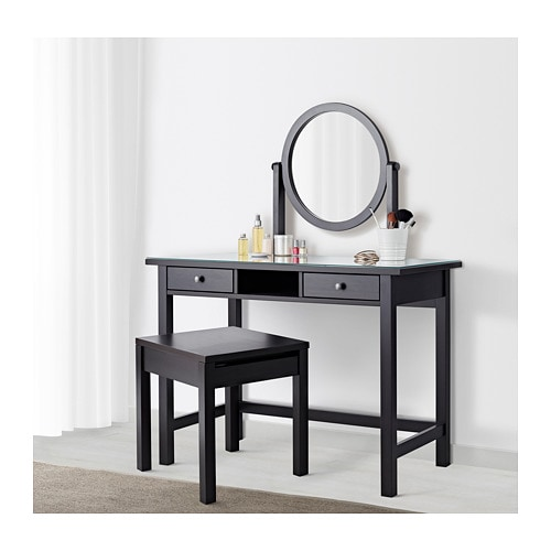 HEMNES Dressing table with mirror   IKEA