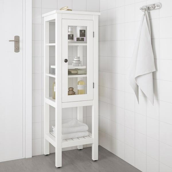 IKEA HEMNES High cabinet with glass door