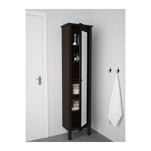 hemnes high cabinet with mirror door white ikea rh ikea com hemnes high cabinet with mirror door black-brown stain hemnes high cabinet with mirror door black-brown stain
